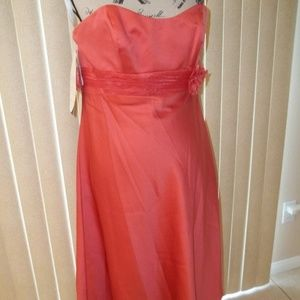 NWT! ALFRED ANGELO SPICE BRIDESMAID DRESS SIZE 12